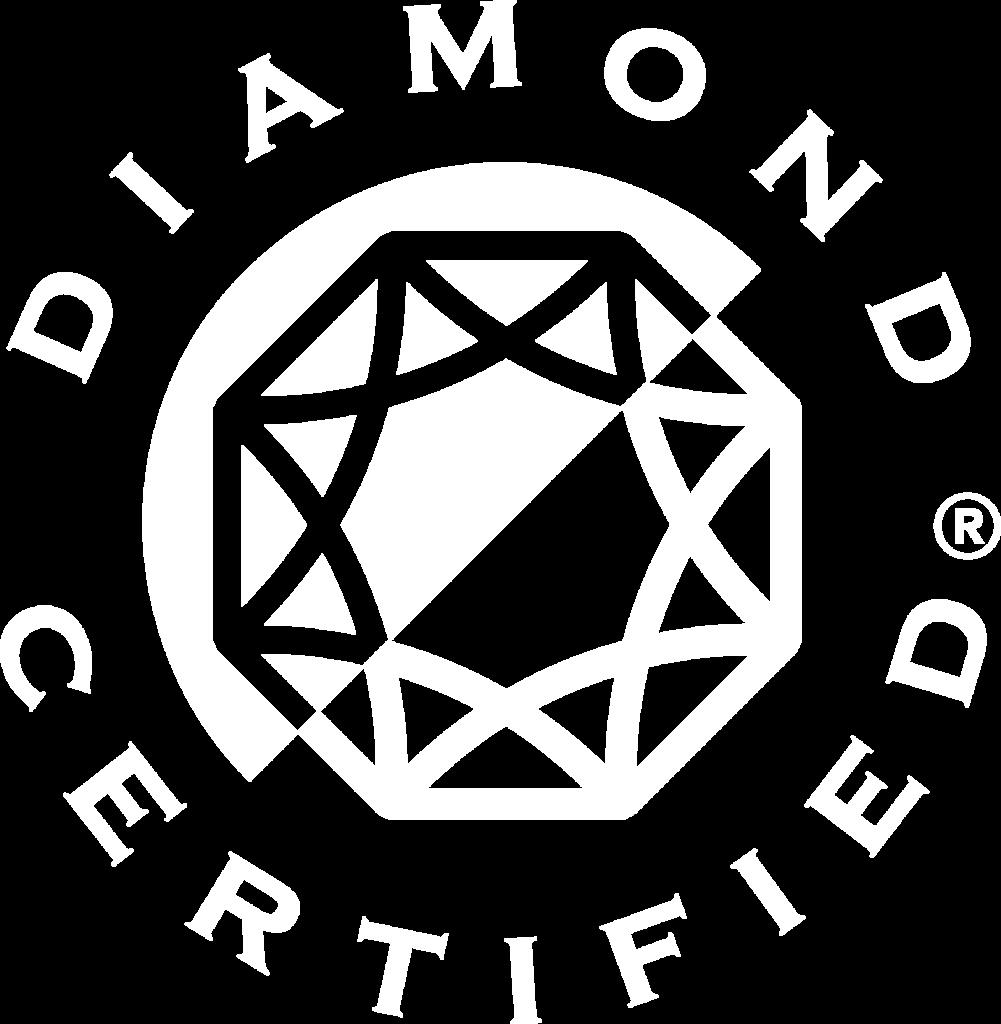 diamond certified logo transparent