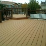 multilevel deck with wood fence Fremont, CA