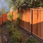 board on board redwood privacy fence Mountain View, CA