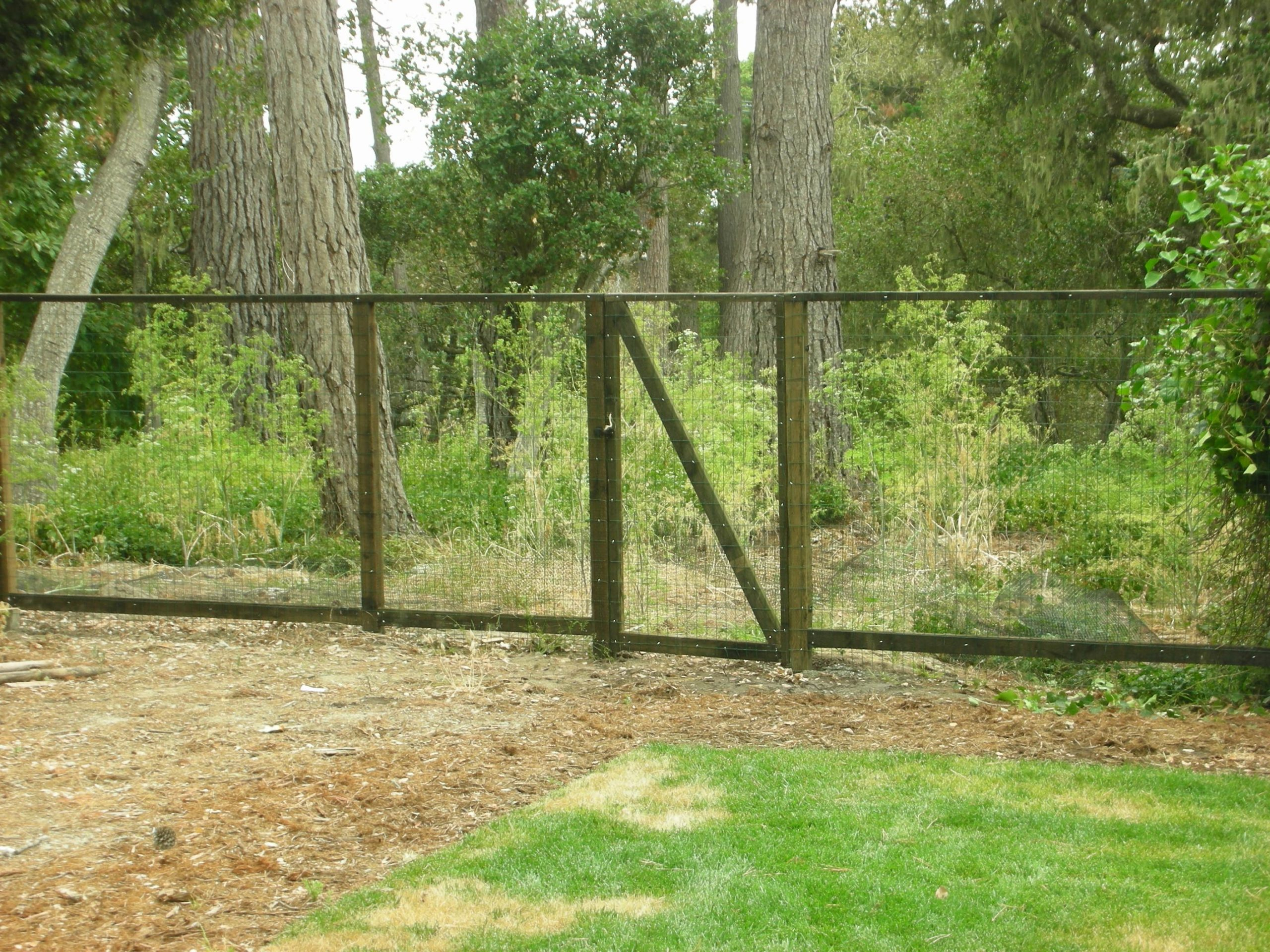 deer fencing with welded wire Brentwood, CA