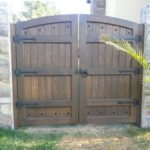custom arched double gate Fremont, CA