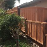 redwood fence and gate 94513