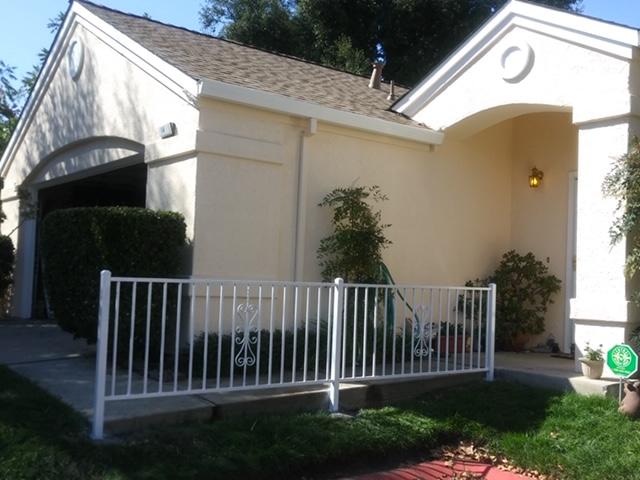 iron walkway railing Brentwood, CA