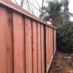 residential redwood fencing brentwood, CA