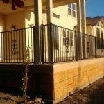 iron patio fence railing San Jose, CA