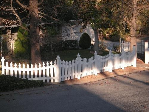 white picket fence Brentwood, CA