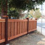 residential redwood fence Discovery Bay, CA