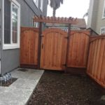 redwood gate fence pergola San Jose, CA
