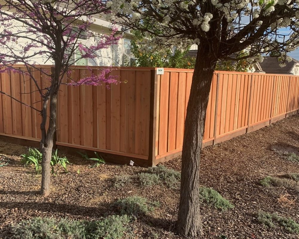 good neighbor redwood fence Brentwood, CA 94513